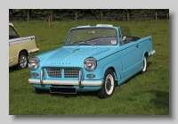 Triumph Herald 1200 Convertible front