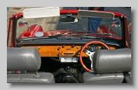 Triumph Herald 1200 Convertible inside