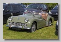 Triumph TR3A front