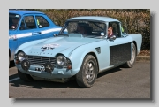 Triumph TR4 Rally front