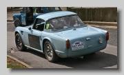 Triumph TR4 Rally rear