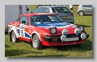 Triumph TR7 1978 V8 Rally front