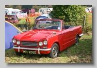 Triumph Vitesse 2000 Mk II convertible front