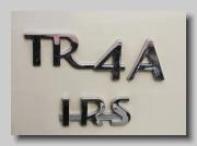 ab_Triumph TR4A IRS badge
