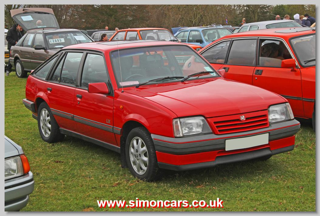 Simon Cars Vauxhall Cavalier Historic Automobiles Old