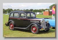 Vauxhall DX 14-6 1935 4-door saloon front