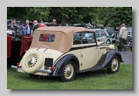 Vauxhall DX 14-6 1937 DHC rearc