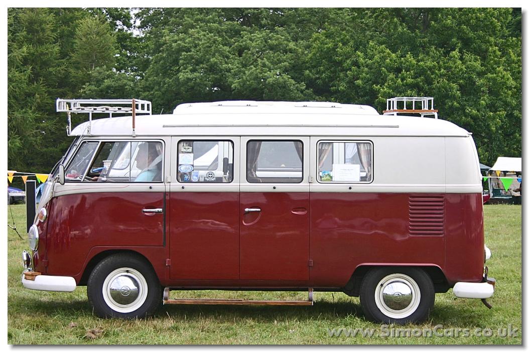 Y VW Microbus 1966 Side