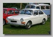 VW 1600 E 1972 front
