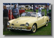 VW Karmann Ghia Convertible 1970 front