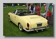 VW Karmann Ghia Convertible 1970 rear