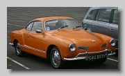 VW Karmann Ghia Coupe 1970 front
