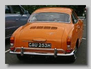VW Karmann Ghia Coupe 1970 rear