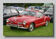 VW Karmann Ghia Coupe 1970b front