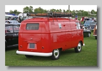 VW Transporter 1960 rear