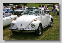 VW type 1 1600 convertible 1979 front
