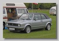 Volkswagen Golf GTI 1987 Convertible front