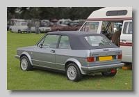 Volkswagen Golf GTI 1987 Convertible rear