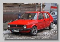 Volkswagen Golf LD front