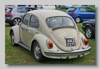 Volkswagen Type 1 1968 1300 rear