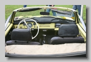 y_VW Karmann Ghia Convertible 1970 inside