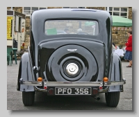 Wolseley 25 Series II tail